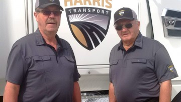 Harris Transport  in Worlds Largest Truck Convoy