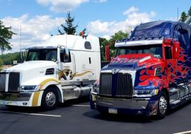 Harris Transport & Optimus Prime